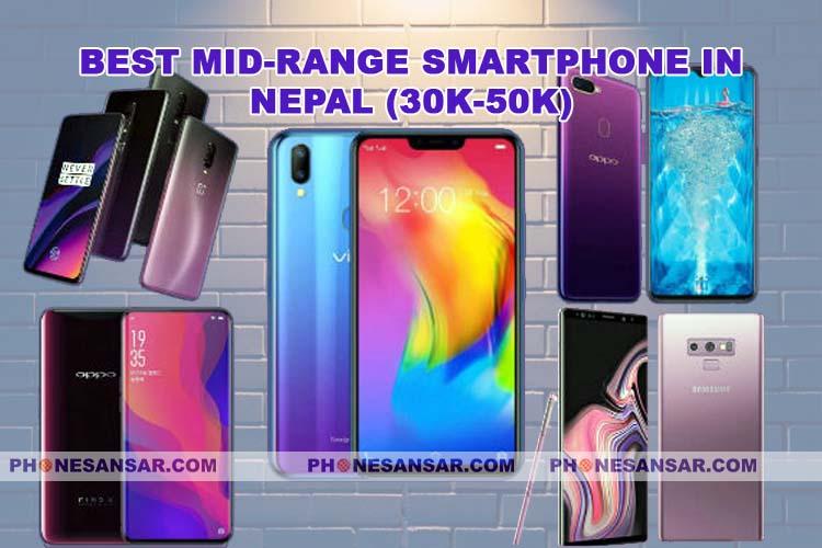 Best Mid-range Smartphones  in Nepal