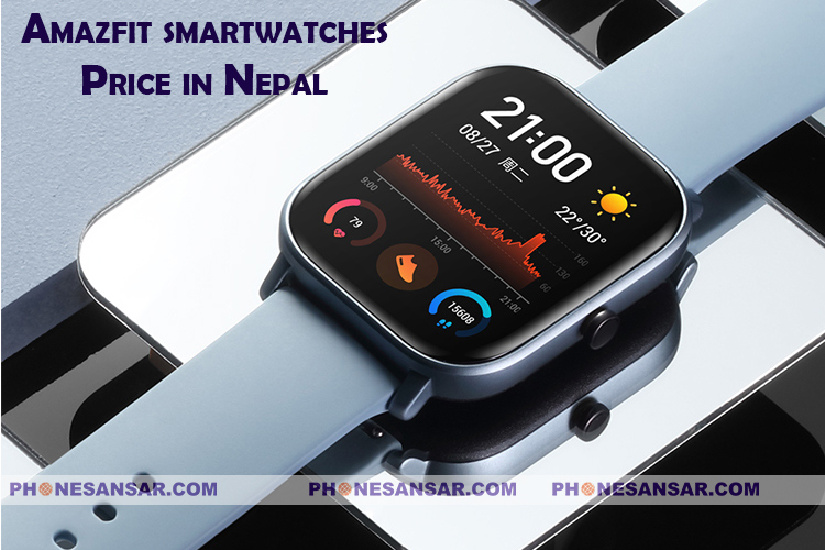 Amazfit smartwatches Price in Nepal