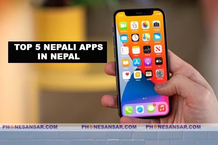 Top 5 Nepali Apps in Nepal